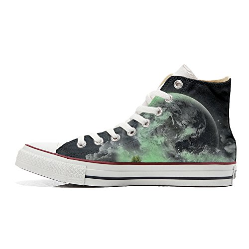 Converse All Star Customized Unisex - zapatos personalizados (Producto Artesano) con el mundo
