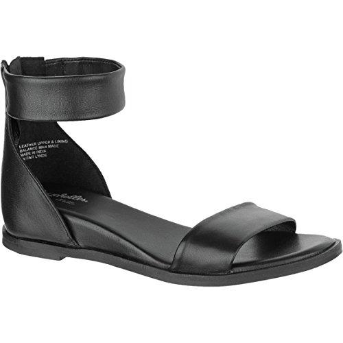 Sandalo Alto Delle Seychelles - Pelle Nera Da Donna
