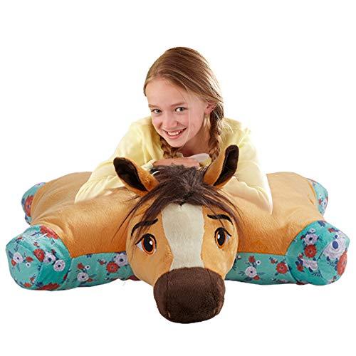 Pillow Pets Spirit Riding Free Horse - DreamWorks Extra Big Stuffed Animal Plush Toy (Pillow Horse Pet)