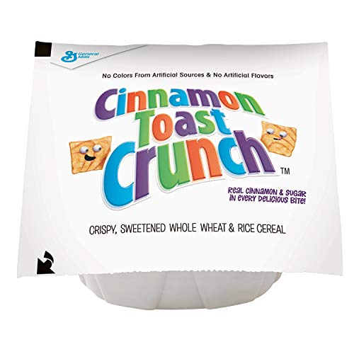 Cinnamon Toast Crunch Cereal, 1-Ounce Bowls (Pack of 96) - Toast Cereal Crunch Cinnamon