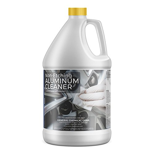 AutoGeneral Non-Etching Aluminum Cleaner & Brightener | Industrial-Grade Cleaning Supplies & Products | Ideal for Wheels, Cars, Trucks & Trailers | Works on Alloy, Chrome & Aluminum | 1 Gallon