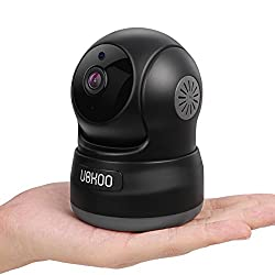 Wireless Security Camera, UOKOO 720P HD Home WiFi Wireless Security Surveillance Camera with Motion Detection Pan/Tilt, 2 Way Audio and Night Vision Baby Monitor, Nanny Cam