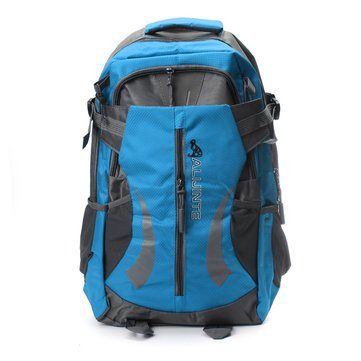 Price comparison product image Mountain Hiking Backpack - Camping Travel Backpack - 40L-45L Outdoor Camping Traveling Mountaineering Hiking - Red (Outdoor Travel Backpack)