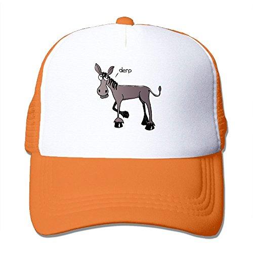 Womens Cotton Cap Adjustable Hat Donkey