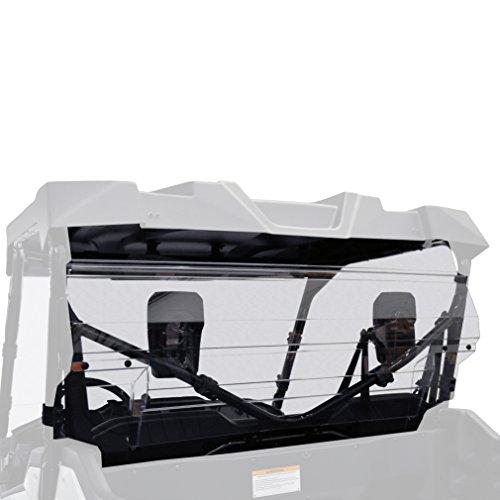 Kolpin 2788 Honda Pioneer 1000 Rear Windshield-UC (Best Windshield For Honda Pioneer 1000)