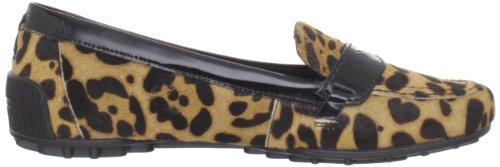 Jackie Loafer Leopard / Black Van Rockport Dames