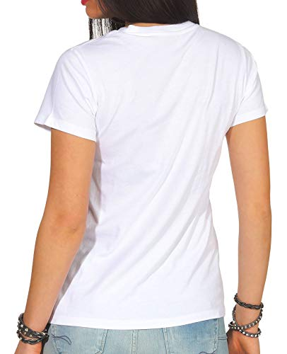 Levi's Perfect Blue Donna hsmk shirt 0426 T Tee Bianco The White rr5xqw47C