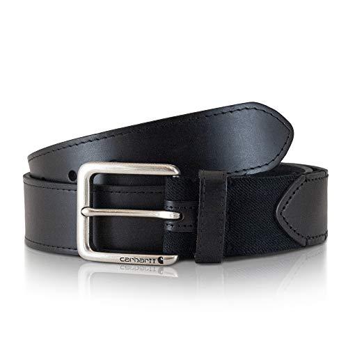 Carhartt Men's Signature Casual Belt, Flex Black, 42