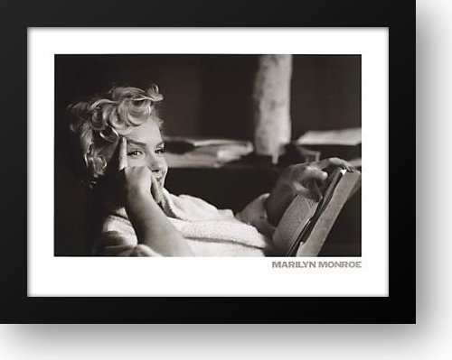 Marilyn Monroe 36x28 Framed Art Print by Erwitt, Elliott