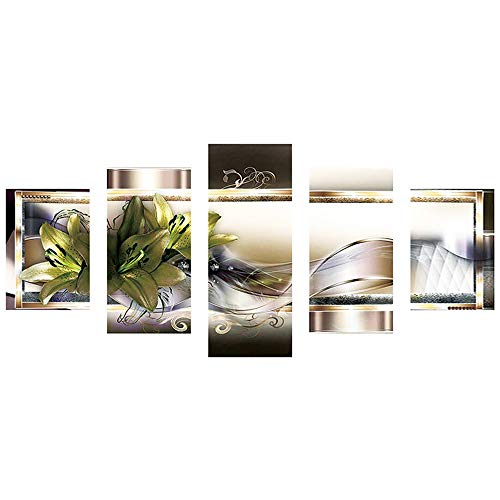 XQXCL Full Drill DIY 5D Diamond Painting Embroidery Cross Crafts Stitch Kit Home Decor (C, One -