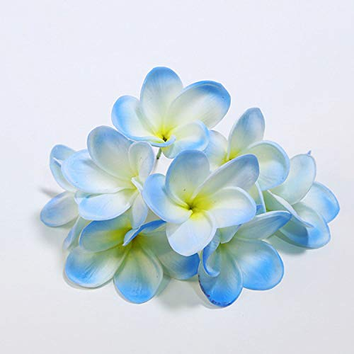 Tuyhnm-Artificial-frangipani-Natural-Real-Touch-Flowers-for-Cake-Decoration-Silk-Bridal-Bouquet-Wedding-CenterpiecesYellow