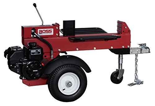 Dual-Action Gas Log Splitter, 13 Ton by Boss Industrial