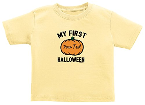 Yo Gabba Gabba Halloween Costumes For Toddlers (Personalized Toddler Clothes for Girls Personalized Baby Name First Halloween Toddler T-Shirt 3T Banana)