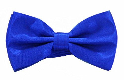 (Soophen Pre Tied Mens Adjustable Bow Tie Royal Blue)