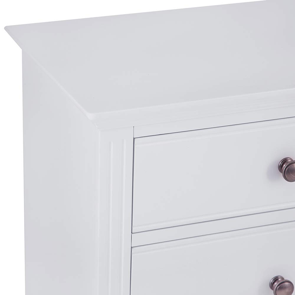 The Furniture Outlet Banbury Grey Painted 6 Drawer Chest