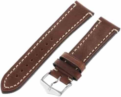 Hirsch 109002-10-22 22 -mm  Genuine Calfskin Watch Strap