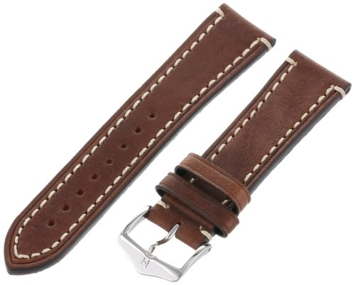 Hirsch 109002-10-22 22 -mm  Genuine Calfskin Watch Strap