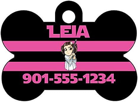 Disney Luke Skywalker Custom Pet Id Dog Tag Personalized w// Name /& Number