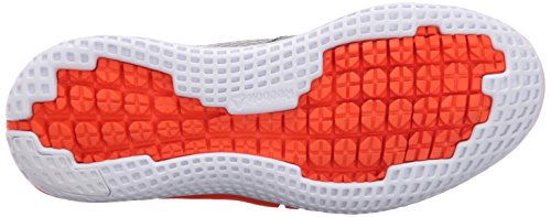 Reebok – zapatilla de running zprint (Big Kid) Tin Grey/Shark/Atomic Red/White