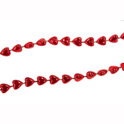 Miniature Red Hearts Garland