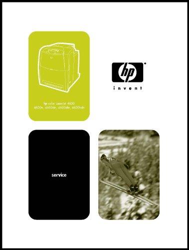 - HP LaserJet Printer 4600 Service Manual Guide 364 page