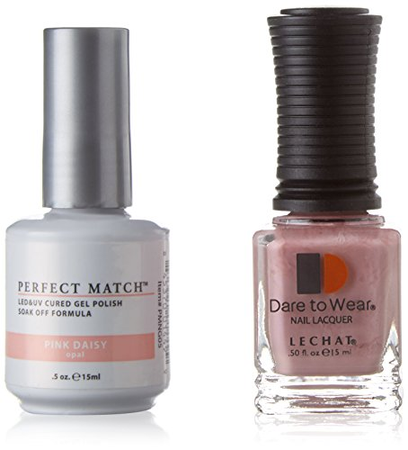 - Le Chat Perfect Match Led-Uv Gel Polish Kits - Complete A-Z Collection, Pink Daisy