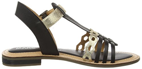 Marc Shoes Mimi - Sandalias Mujer Negro - Schwarz (black-combi 101)
