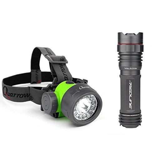 Nebo 5616 SE Redline 250 Lumens LED Flashlight, 70 Lumen ...