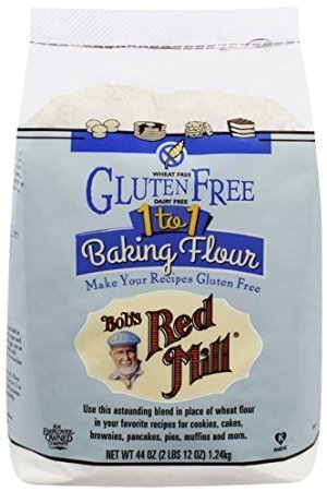 Bob's Red Mill Gluten Free 1-to-1 Baking Flour, 44-ounce by Bob's Red Mill (Image #1)