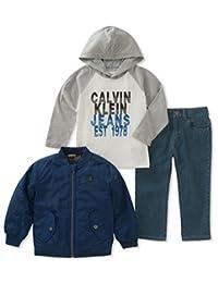 Calvin Klein - Juego de 3 Chaquetas para bebé