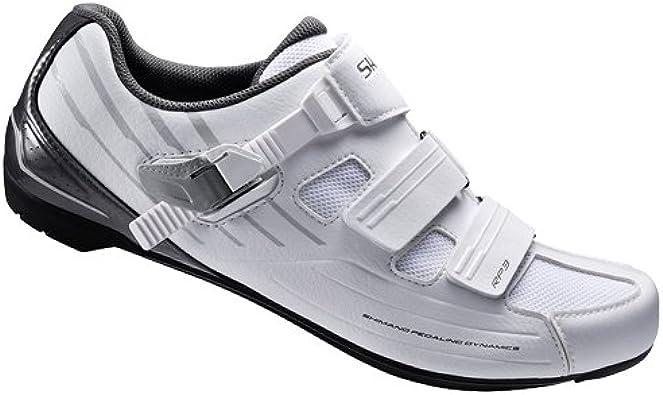 SHIMANO RP3, Zapatillas de Ciclismo Adultos Unisex, Blanco ...