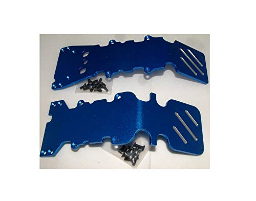 Reliable T-MAXX .15 2.5 E-MAXX Front&Rear GPM Blue Aluminum Skid Plate KIT TMX-01331 Quick Arrive