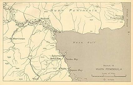 Amazon.com: Huon Peninsula Campaign 1943. Papua New Guinea ...