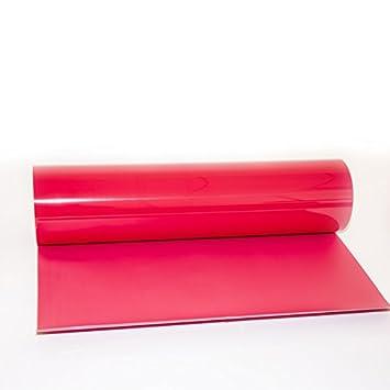 Hoho PU thermocollant en vinyle de transfert de chaleur de coupe film pour T-shirt DIY (50cmx50cm) 30CMX50CM noir
