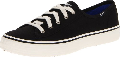 Keds Women's Double Up Core Fashion Sneaker,Black,9.5 M - Keds Shoes Womens Star