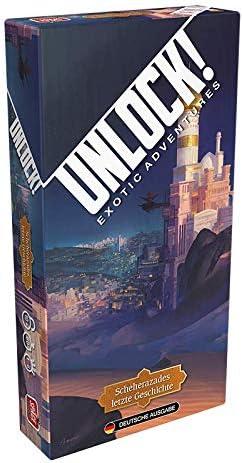 Space Cowboys Asmodee SCOD0040 Unlock! - La última Historia de Scheherazades, Juego de Mesa en alemán.: Amazon.es: Juguetes y juegos