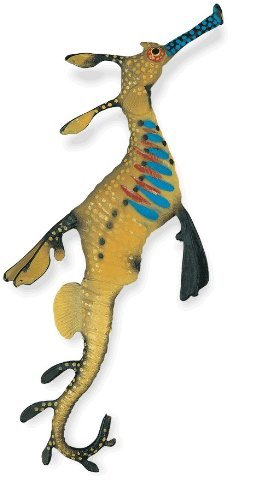 Safari Ltd Incredible Creatures Weedy Seadragon Realistic Hand-Painted Toy Figurine Model For Ages 3 And Up - Large