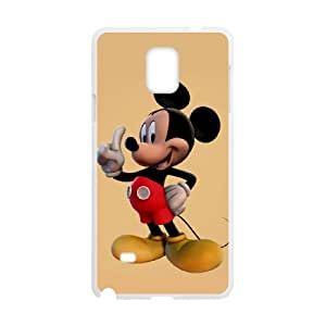 Samsung Galaxy Note 4 Phone Case for Classic theme Disney Mickey Mouse Minnie Mouse cartoon pattern design GDMKMM943785