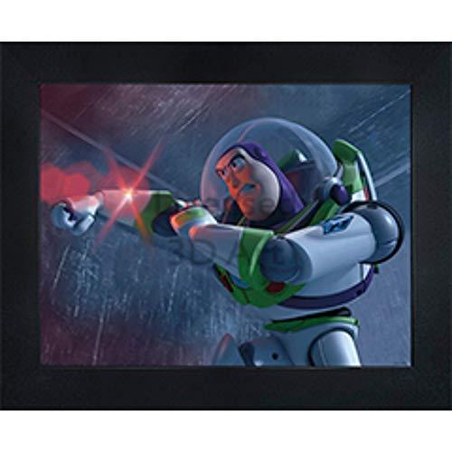 - Toy Story Buzz Lightyear 3D Poster Wall Art Decor Framed | 14.5x18.5