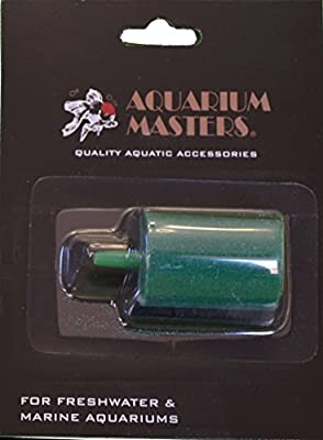 """3 Pack Of Deluxe Professional Cylinder Mineral Air Stone 1.5"""" For Fresh Water & Saltwater Aquariums, Aquaculture, Terrariums & Hydroponics!"""