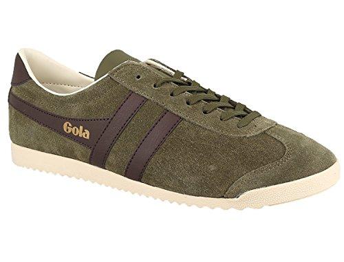 Gola Herren Kugel Suede Fashion Sneaker Hell Khaki / Braun