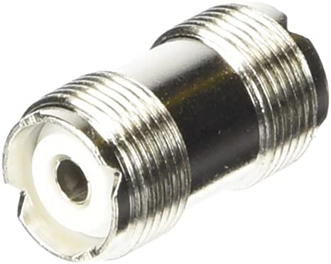 HIGH QUALITY UHF DOUBLE FEMALE BARREL CONNECTORS DOUBLE SO239 FOR PL259 5 FIVE