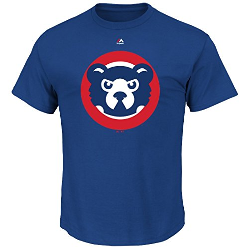 Chicago Cubs Cooperstown Official Logo Blue T-Shirt - XX-Large