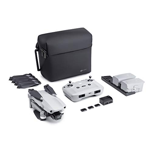 DJI Mavic Air 2 Fly More Combo - Drone Quadcopter UAV with 48MP Camera 4K Video 1/2 inch CMOS Sensor 3-Axis Gimbal 34min Flight Time ActiveTrack 3.0 - Grey