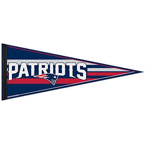 (Wincraft NFL New England Patriots WCR63775014 Carded Classic Pennant, 12