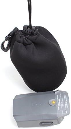RC Gearpro Lot de 2/Sacs de Rangement Portable Combo Compatible pour DJI Mavic Pro Drone Batterie et t/él/écommande /à la poussi/ère de Transport Coque de Protection avec Boucle /à Suspendre