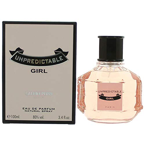 Glenn Perri Unpredictable Girl for Women Eau de Parfum Spray, 3.4 Ounce