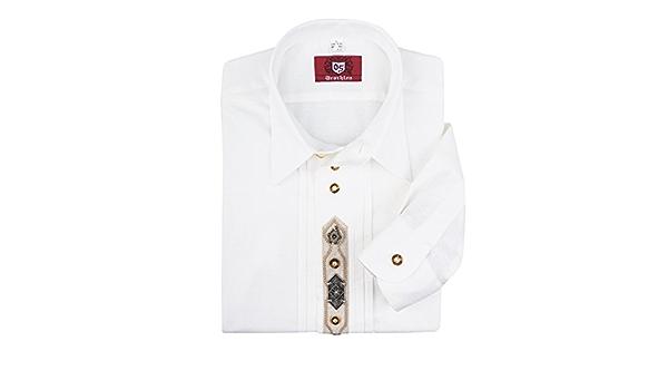XXL Orbis Camisa Tradicional Tradicional en Blanco, 45/46-55 ...