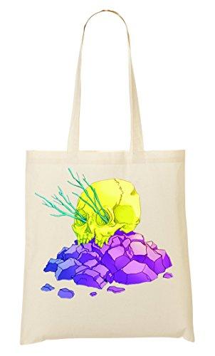 tout Color provisions à Amazing Neon Skull Fourre Bright Sac Sac Yxzqwa5z