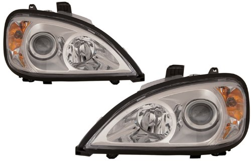 Depo 340-1104P-ASN1 Freightliner Columbia Driver/Passenger Side Replacement Headlight Assembly